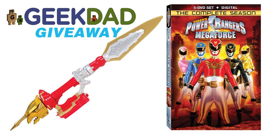 Saban's Power Rangers Megafoce DVD giveaway promo