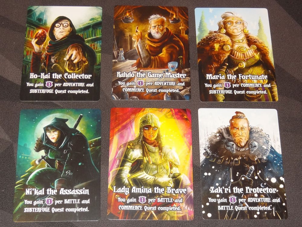 Quests of Valeria Guild Masters