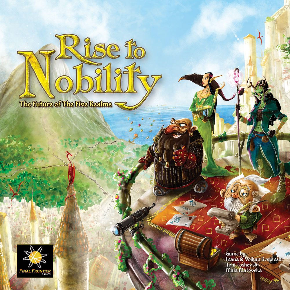 Rise to Nobility cover