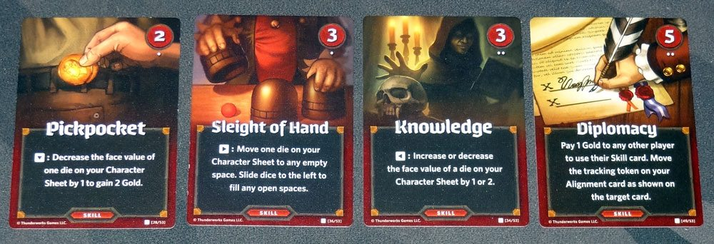 Roll Player Skill cards