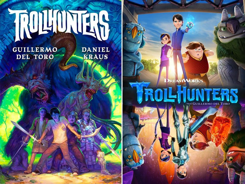 Trollhunters book, show