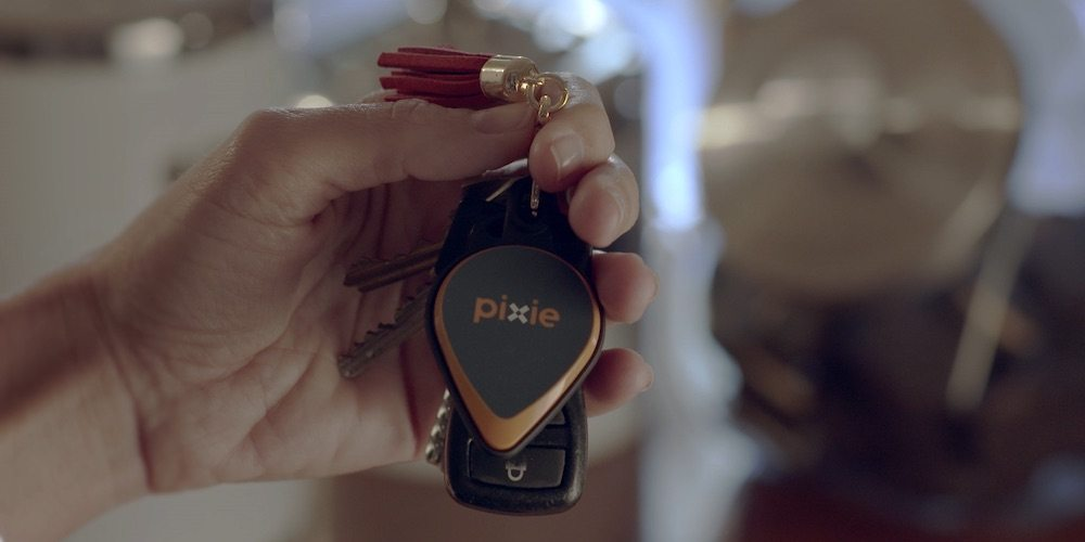 Next generation location-tracking tag from Pixie.