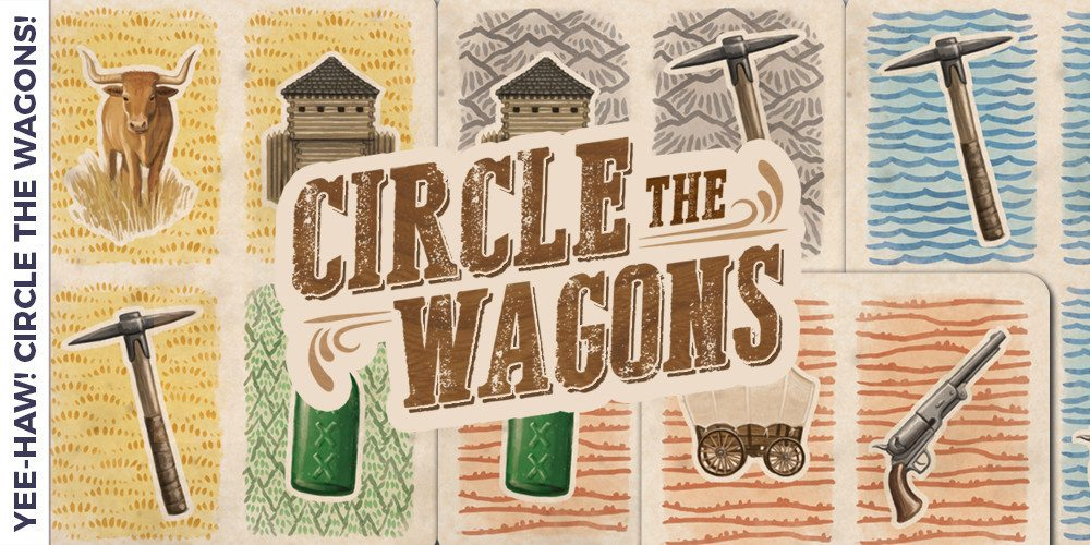 Circle The Wagons Button Shy Games