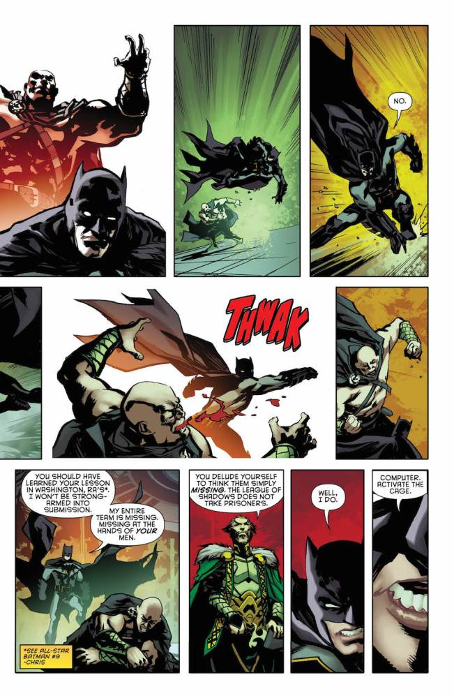 Batman and Ra's Al Ghul in Batman: Detective Comics #954