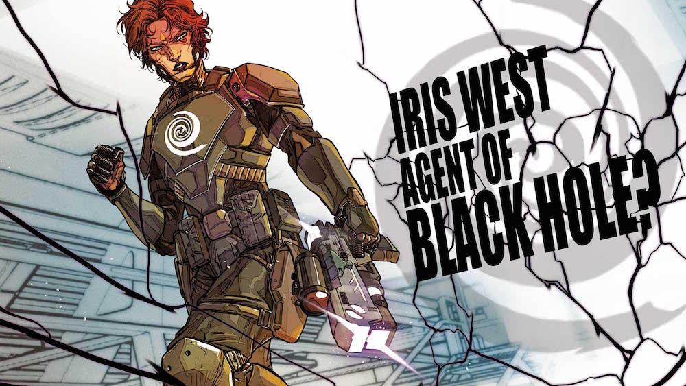 Iris West in Flash #20, 2017