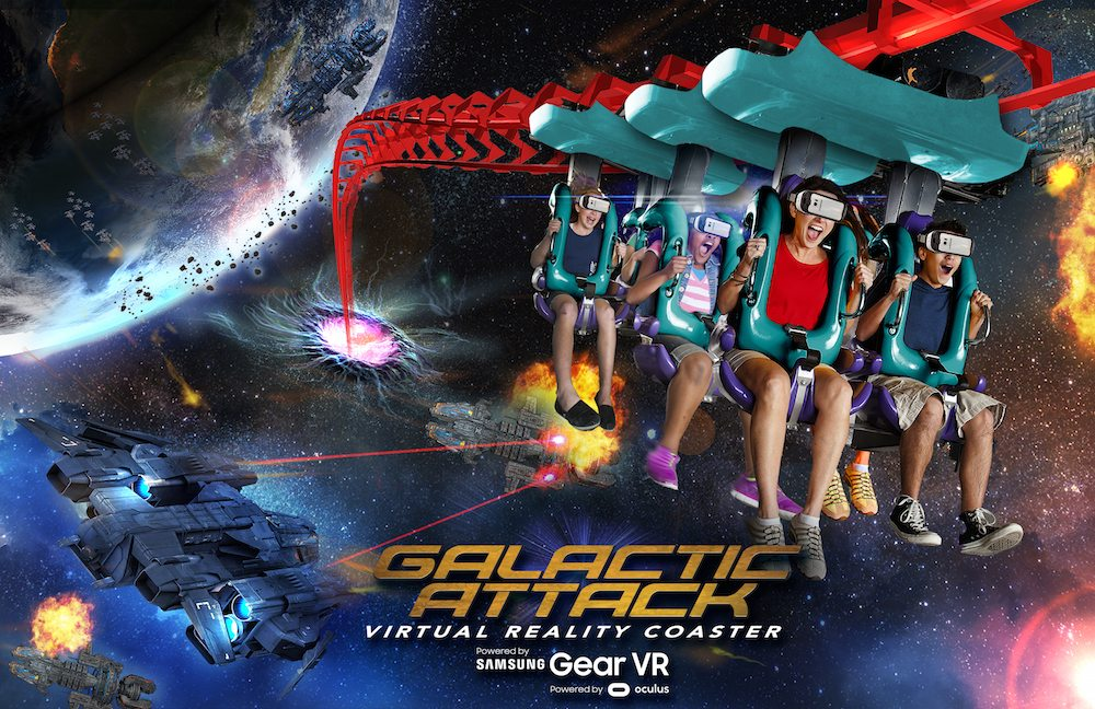 Six Flags Galactic Attack