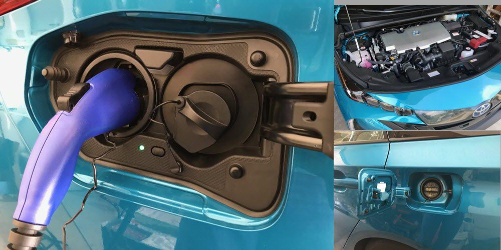 Prius Prime Charge Port