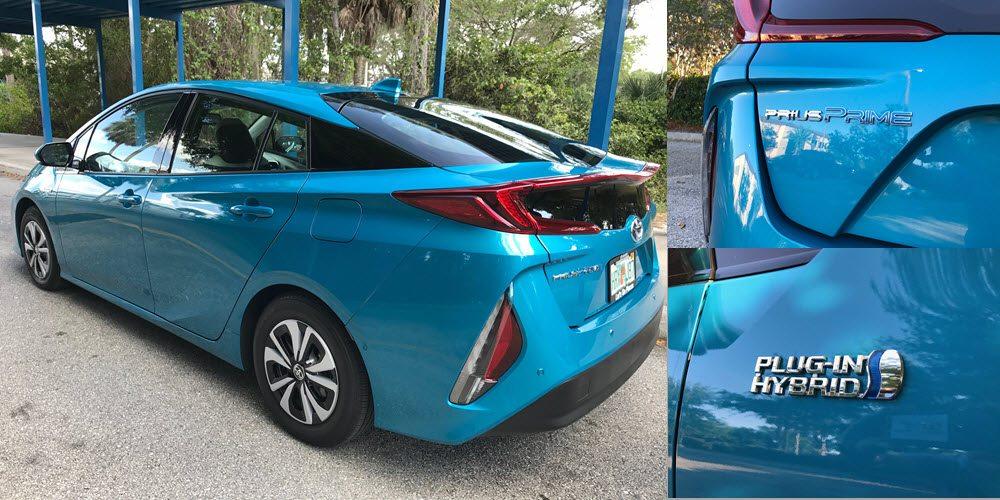 Prius Prime Rear