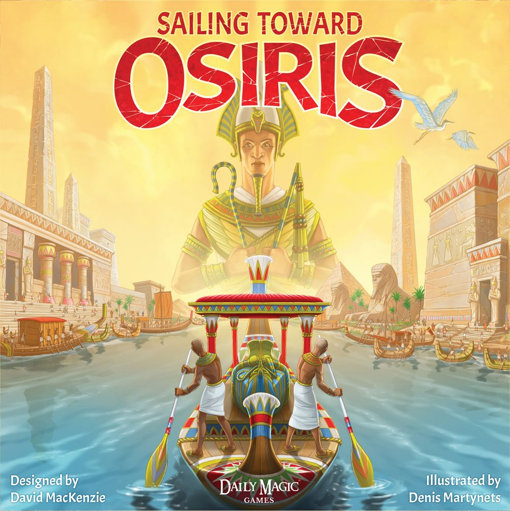 Sailing Toward Osiris cover