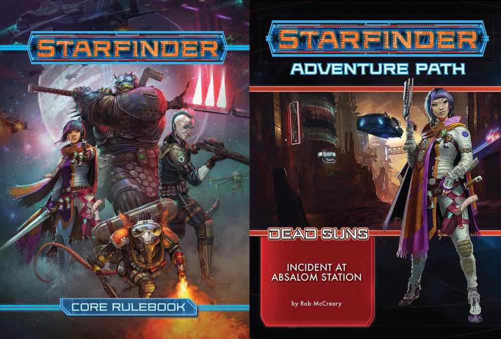 Core Rulebook and AP covers