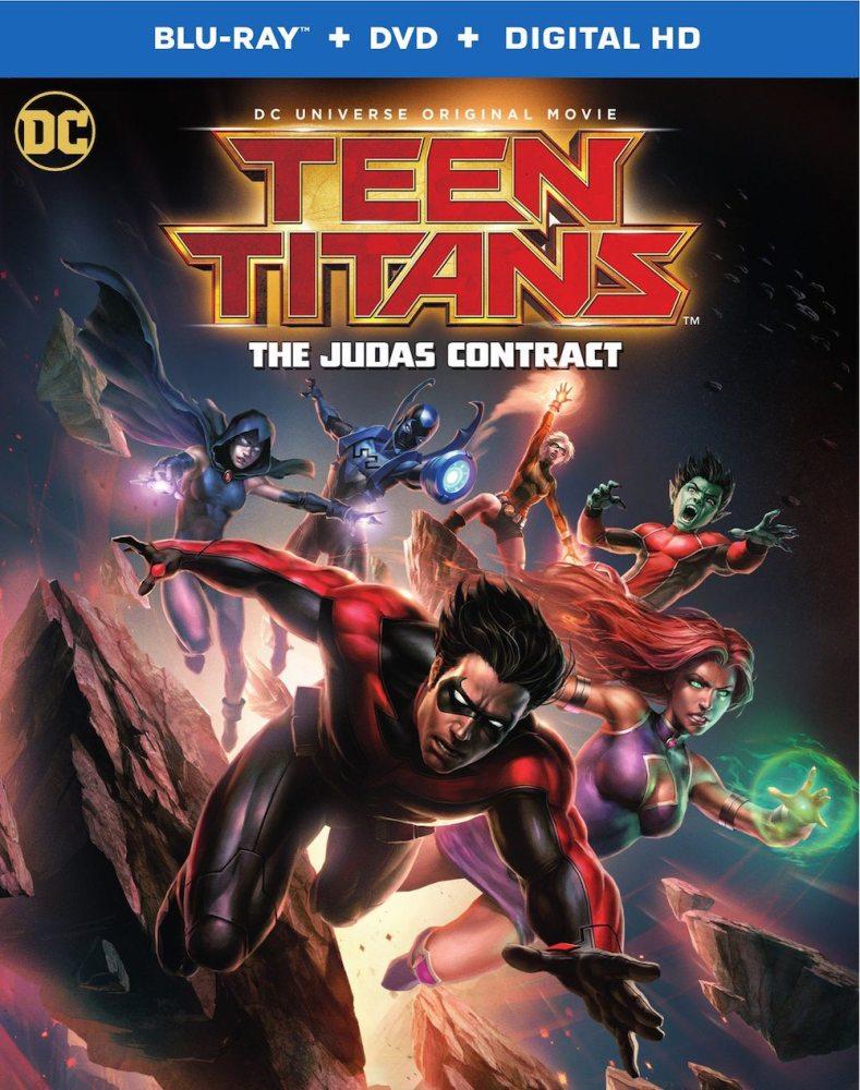 Teen Titans: The Judas Contract DVD art