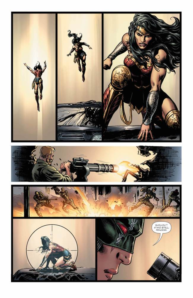 Wonder Woman fights the new Poison in Wonder Woman #21, page 3