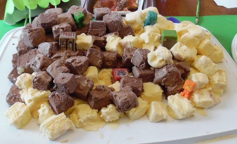 ice cream blocks
