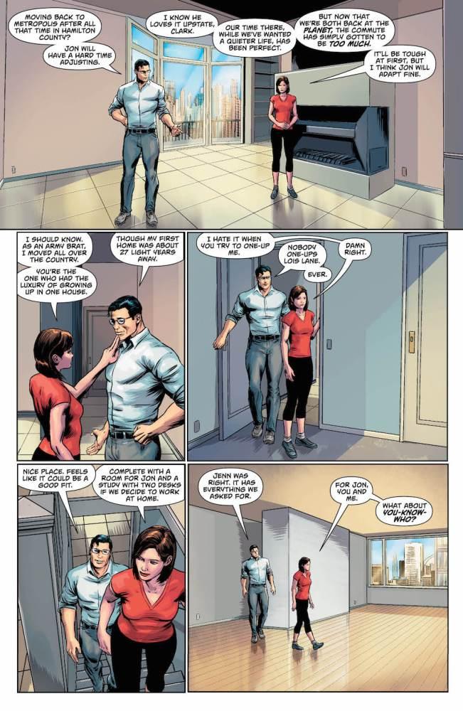 Superman: Action Comics #979, Clark Kent, Lois Lane