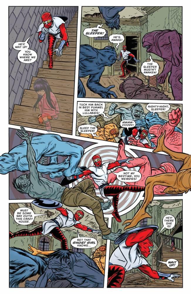 Allred's Young Animal Comic, Bug