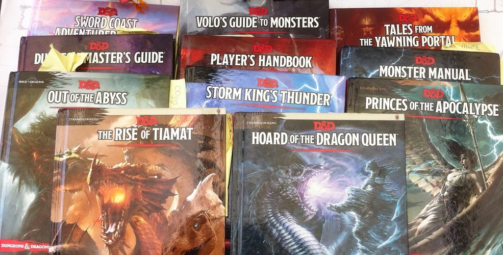 D&D 5e source books