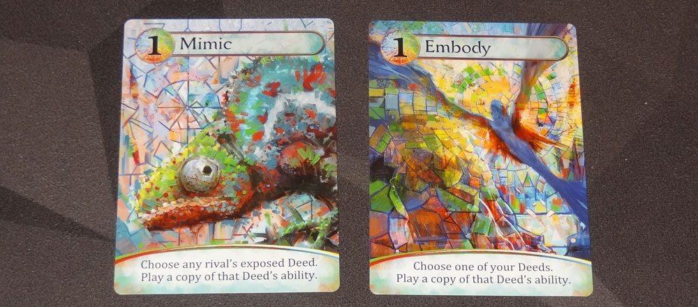 Karmaka mosaic cards