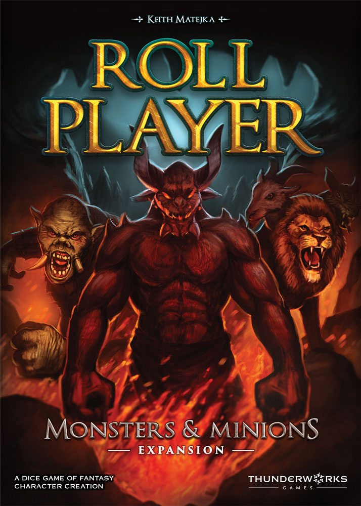 Roll Player Monsters & Minions cover