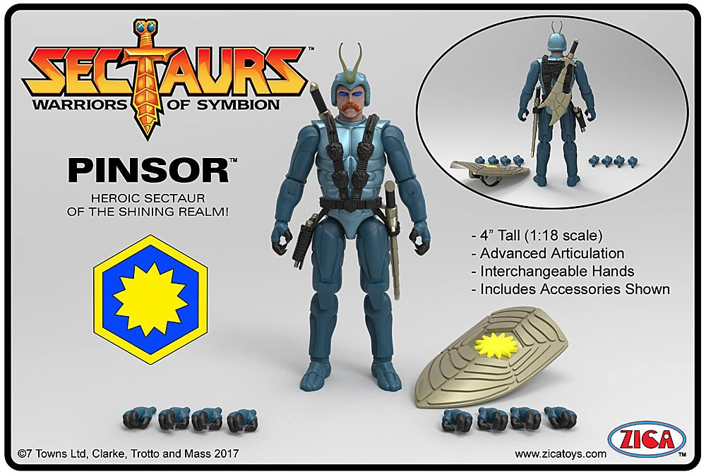Pinsor Figure and Accessories.