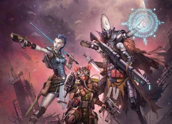 Starfinder Character Folio Cover