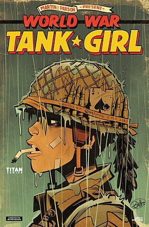 World War Tank Girl #1, Image: Titan Comics