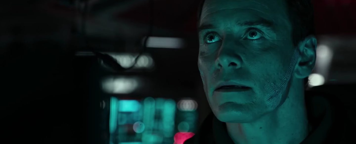 Michael Fassbender in 'Alien: Covenant'.