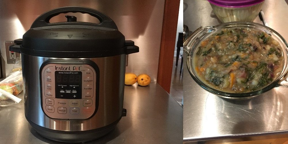 Instant Pot and soup made in Instant Pot