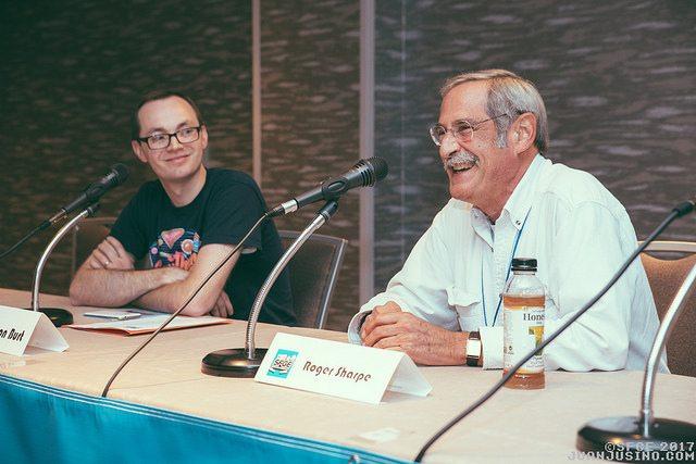 GeekDad Preston interviews pinball legend Roger Sharpe