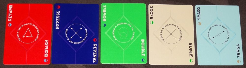 Aura action cards