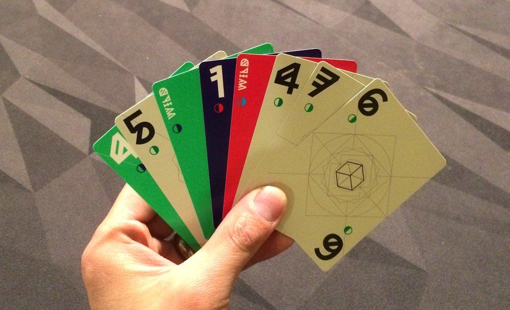 Aura hand of cards