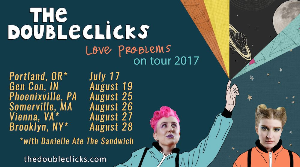 The Doubleclicks tour