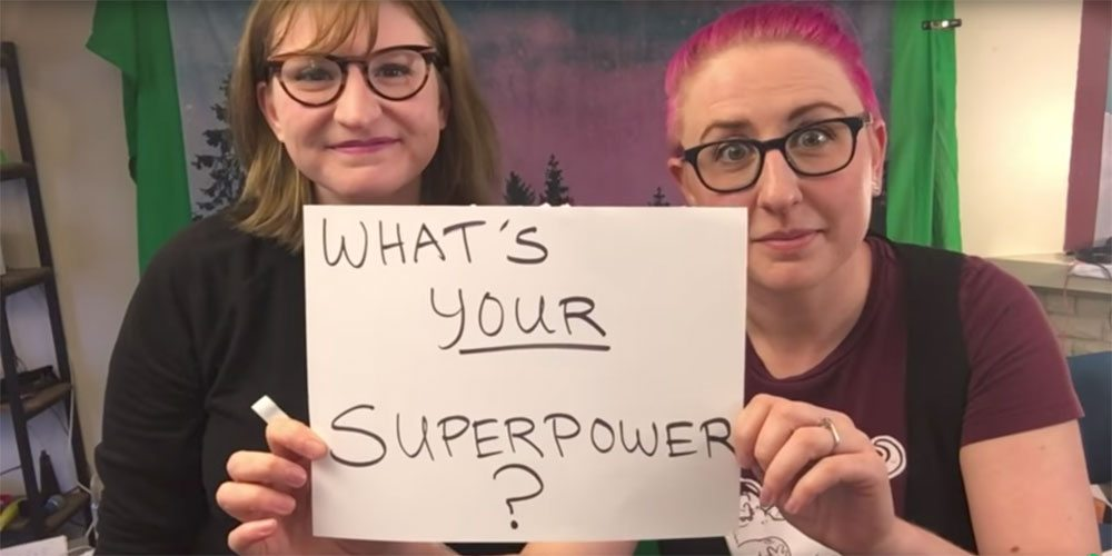 "Doubleclicks ""What's Your Superpower?"""