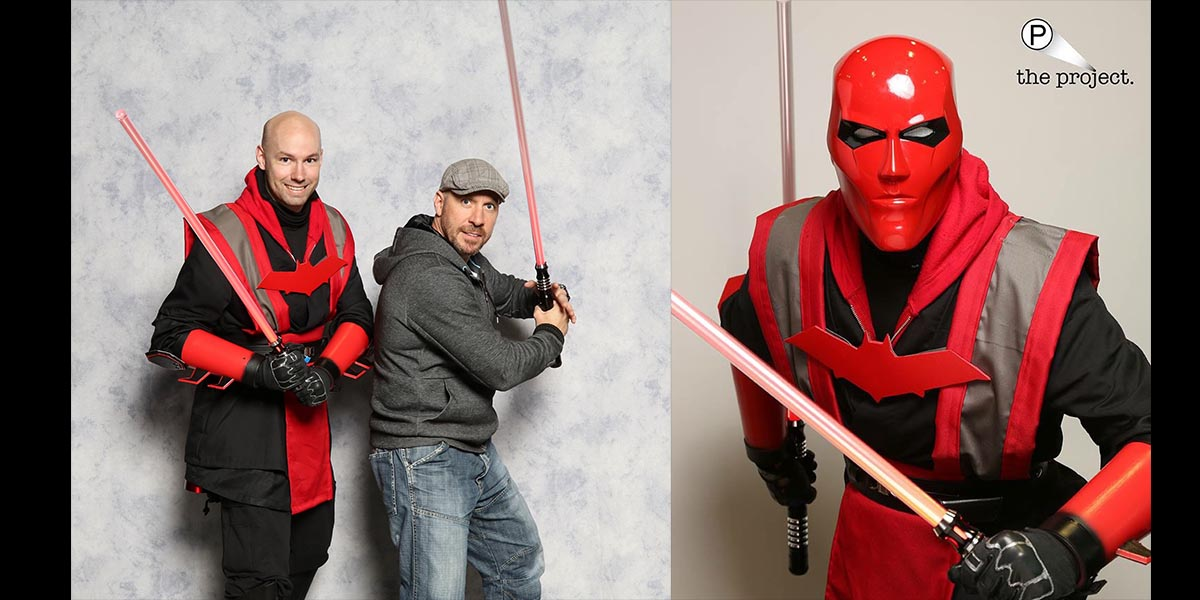 Check out Instagramer DougK1987 and his custom Red Hood Sith Cosplay. \ Images MegaCon
