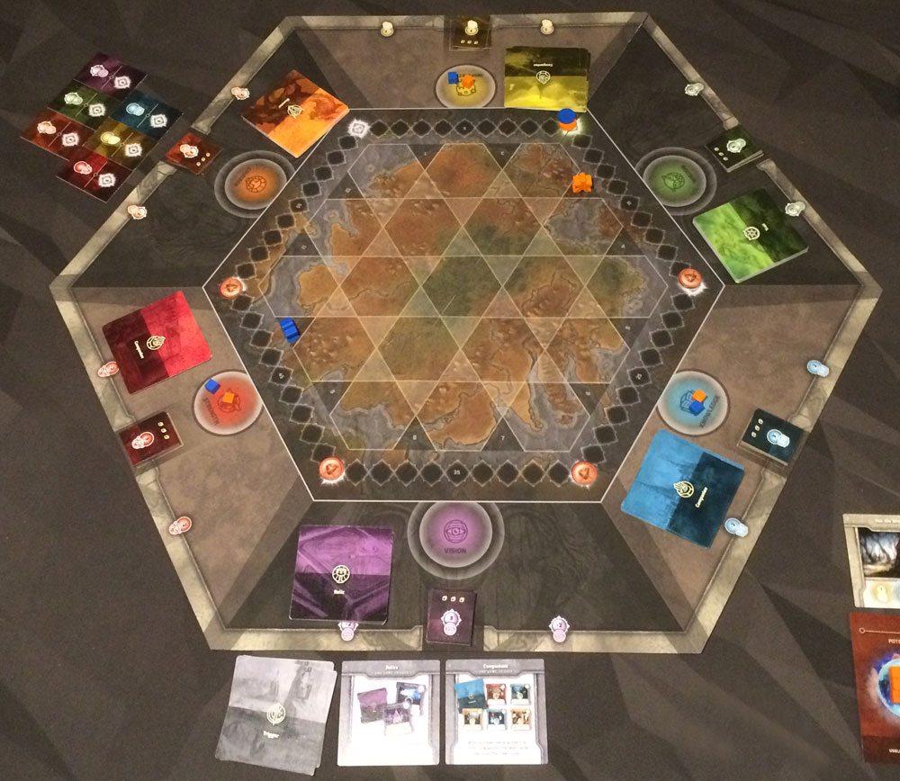Epoch: The Awakening board setup