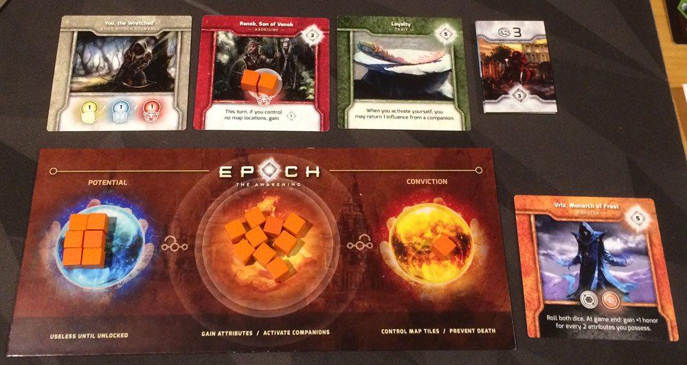 Epoch: The Awakening dashboard