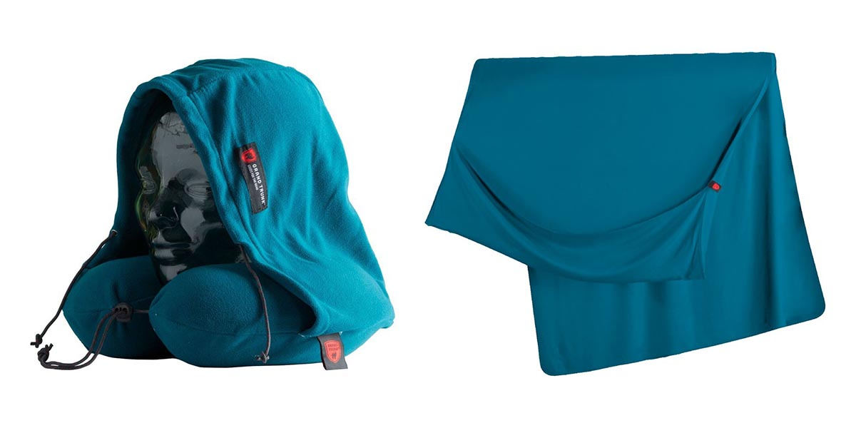 Grand Trunk Travel Pillow and Blanket \ Image: Grand Trunk