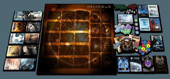 Helionox components