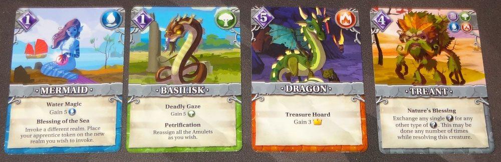 Legendary Creatures Wild Creature cards