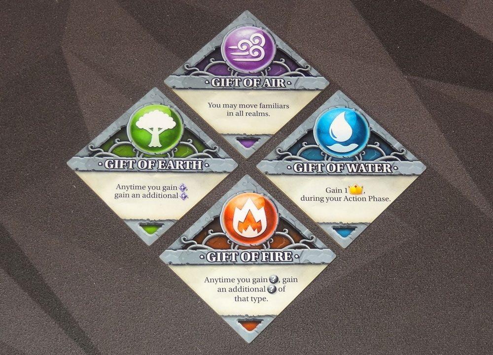 Legendary Creatures elemental gifts
