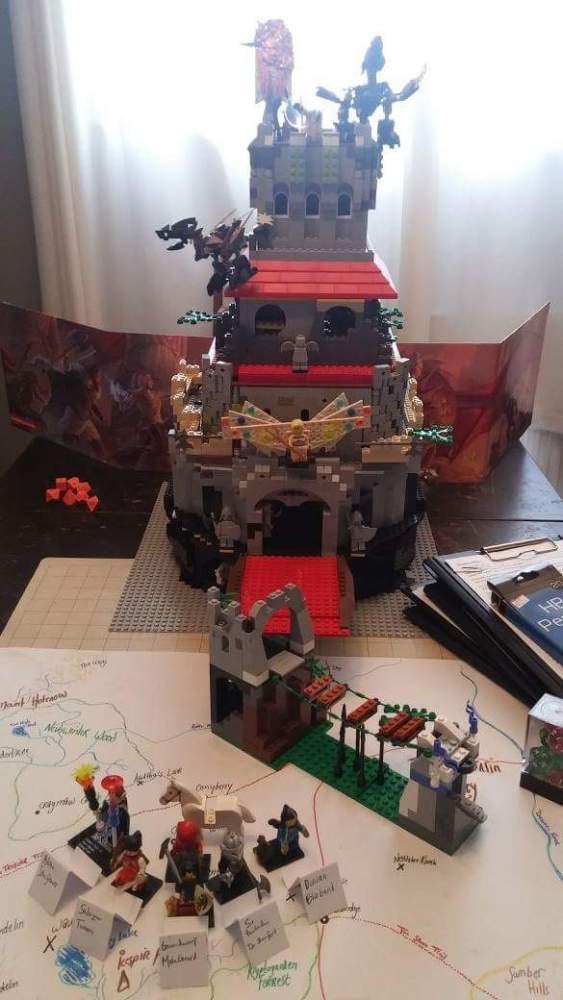 LEGO D&D Feathergale Spire