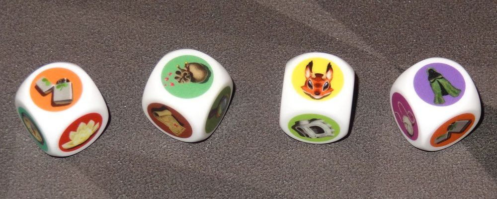 Mysterious Forest dice