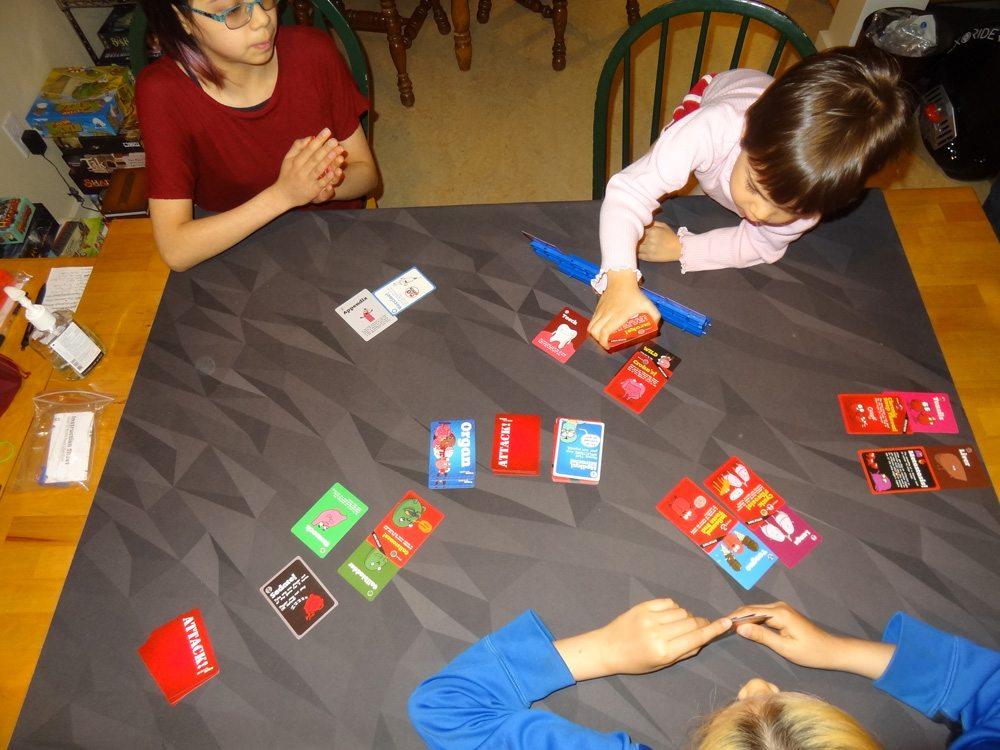 My kids playing OrganATTACK