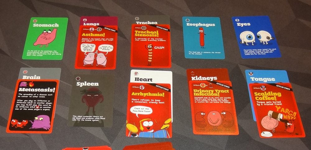 OrganATTACK organs with affliction cards