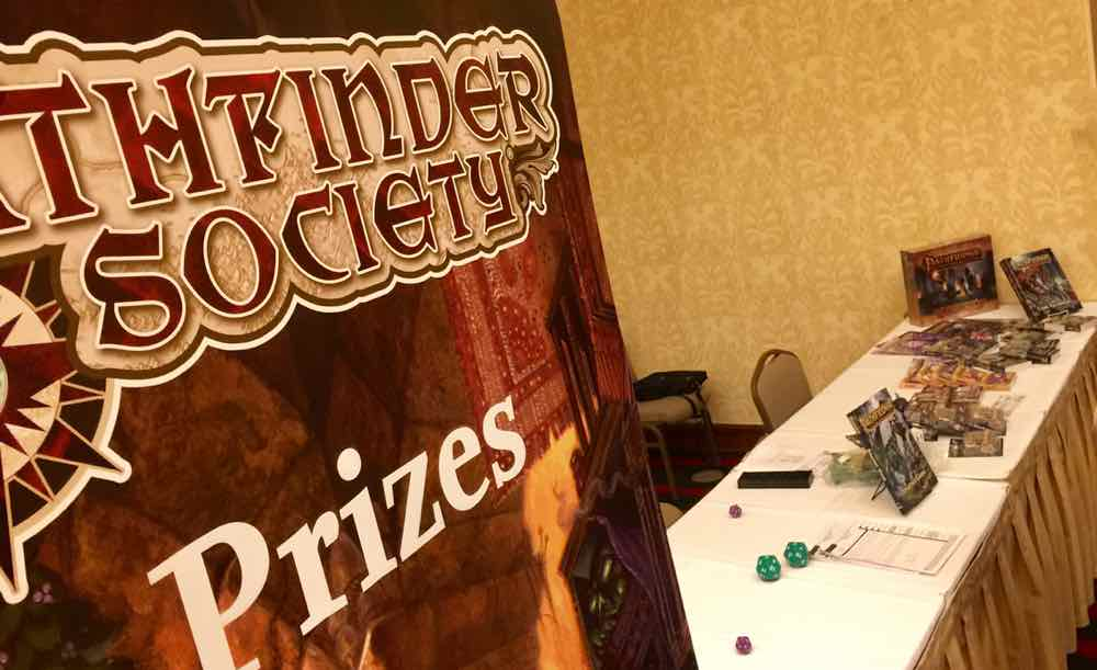 PFS Prize Table