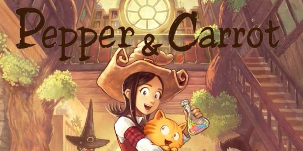 Pepper & Carrot Game