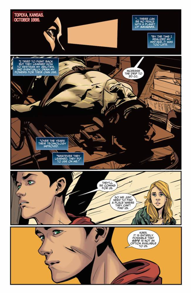 Supergirl Being Super #4