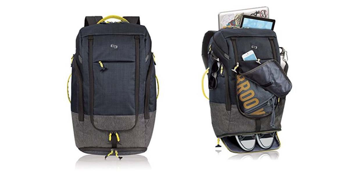 Solo Everyday Max Backpack \ Image: Solo
