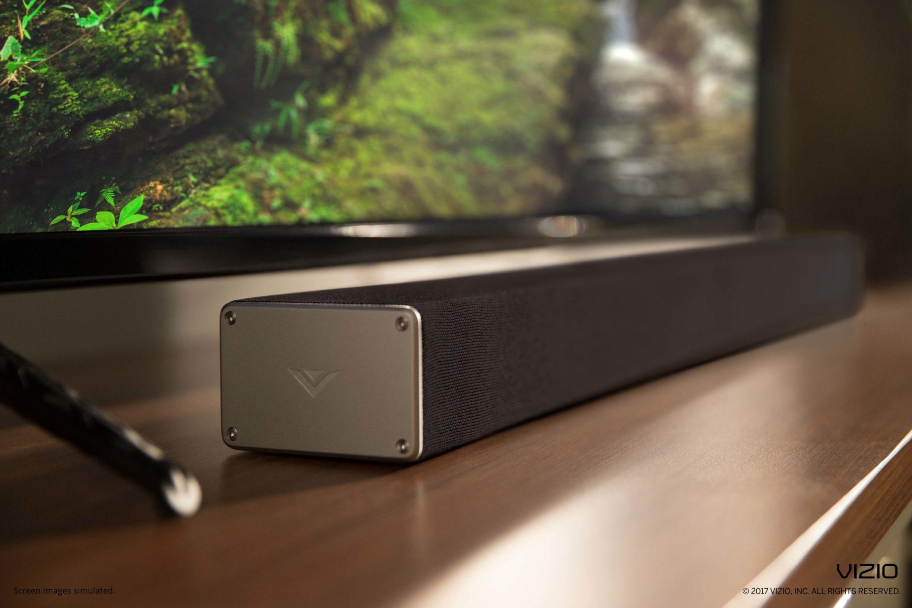 Sound bar side view \ Image: Vizio