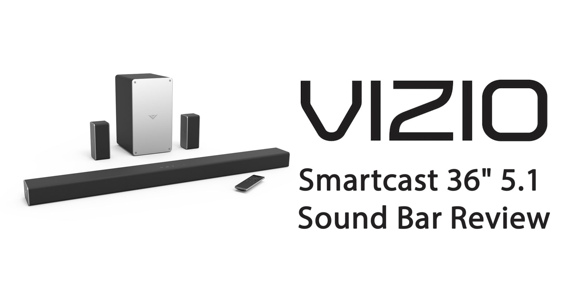 "Vizio Smartcast 36"" 5.1 Sound Bar  Image: Vizio"