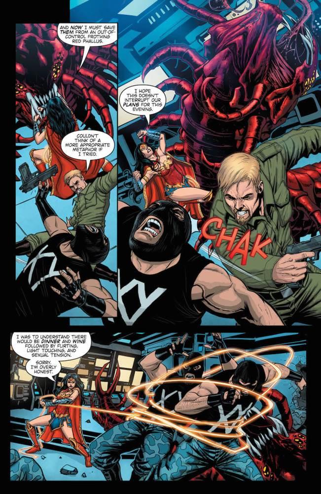 Wonder Woman, Steve Trevor,